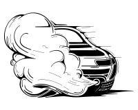 Carro competindo Fotografia de Stock Royalty Free