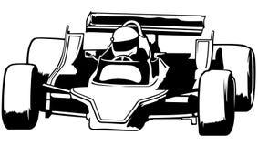 Carro competindo Imagem de Stock