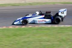 Carro competindo Imagem de Stock Royalty Free