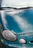 Carro congelado Imagem de Stock Royalty Free
