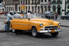 Carro cubano fotografia de stock royalty free
