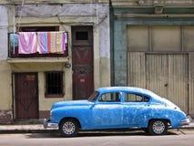 Carro cubano. Imagens de Stock