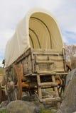 Carro cubierto viejo II Fotografía de archivo libre de regalías