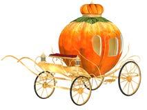 Carro da abóbora do conto de fadas de Cinderella Foto de Stock Royalty Free