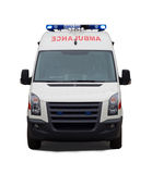 Carro da ambulância Imagem de Stock Royalty Free