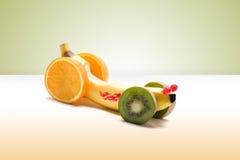 Carro da banana Fotografia de Stock Royalty Free