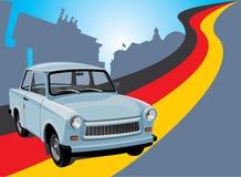 Carro da cidade ilustração stock