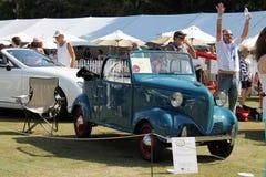 Carro da cidade do vintage Imagem de Stock Royalty Free
