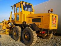 Carro da construção Fotografia de Stock Royalty Free