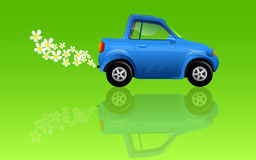 Carro da ecologia Fotos de Stock Royalty Free