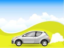 Carro da energia alternativa ilustração do vetor