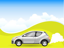 Carro da energia alternativa Imagem de Stock