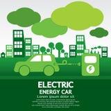 Carro da energia elétrica Imagens de Stock