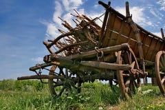 Carro da exploração agrícola do vintage Fotografia de Stock Royalty Free