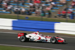 Carro da fórmula 1 em Silverstone 2 Fotografia de Stock Royalty Free