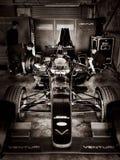 Carro da fórmula E de Venturi imagens de stock