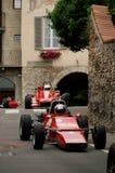 Carro da fórmula 2 em Bergamo Prix grande histórico 2015 Foto de Stock Royalty Free