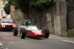 Carro da fórmula 2 em Bergamo Prix grande histórico 2015 Fotos de Stock Royalty Free
