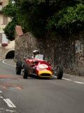 Carro da fórmula 2 em Bergamo Prix grande histórico 2015 Imagens de Stock Royalty Free
