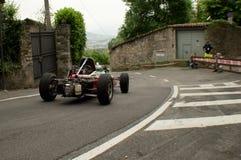 Carro da fórmula 3 em Bergamo Prix grande histórico 2015 Foto de Stock Royalty Free