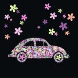 Carro da flor Foto de Stock