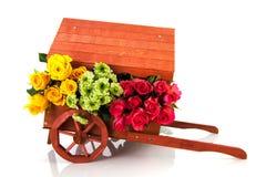Carro da flor Imagens de Stock Royalty Free