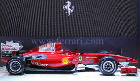 Carro da fórmula 1 de Ferrari Fotos de Stock