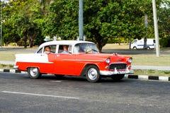 Carro da laranja do vintage Fotos de Stock Royalty Free