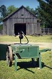 Carro da mangueira de jardim Foto de Stock Royalty Free