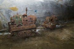 Carro da mineração Foto de Stock Royalty Free