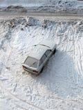 Carro da neve fotografia de stock royalty free