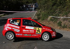 Carro da reunião de Citroen C2 Imagens de Stock