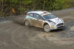 Carro da reunião de Ford Fiesta fotos de stock