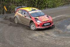 Carro da reunião de Ford Fiesta imagens de stock