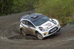 Carro da reunião de Ford Fiesta fotos de stock royalty free