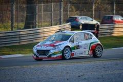 Carro da reunião de Peugeot 208 em Monza Fotos de Stock Royalty Free