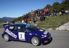 Carro da reunião de Peugeot 206 WRC Foto de Stock Royalty Free