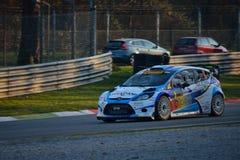 Carro da reunião do mundo de Ford Fiesta WRC em Monza Imagens de Stock Royalty Free