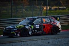 Carro da reunião do mundo de Subaru Impreza WRC em Monza Fotografia de Stock Royalty Free