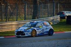 """Carro da reunião do mundo do DS3 WRC n de Citroà do """"em Monza Imagem de Stock Royalty Free"""