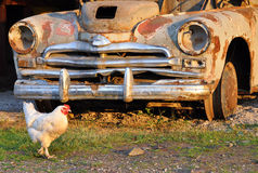 Carro da sucata Foto de Stock Royalty Free