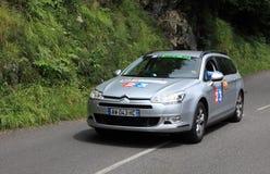 Carro da televisão de France Imagem de Stock Royalty Free
