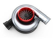 Carro da turbina ilustração stock