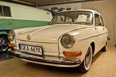 Carro da VW do vintage em um museu do carro Fotos de Stock Royalty Free