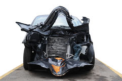 Carro danificado. Fotografia de Stock Royalty Free
