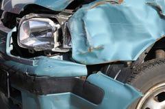 Carro danificado Imagem de Stock Royalty Free