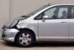 Carro danificado foto de stock