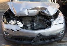 Carro danificado Imagens de Stock Royalty Free