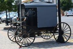 Carro de Amish Imagen de archivo libre de regalías