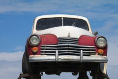 carro de 70 anos do vintage Imagem de Stock Royalty Free